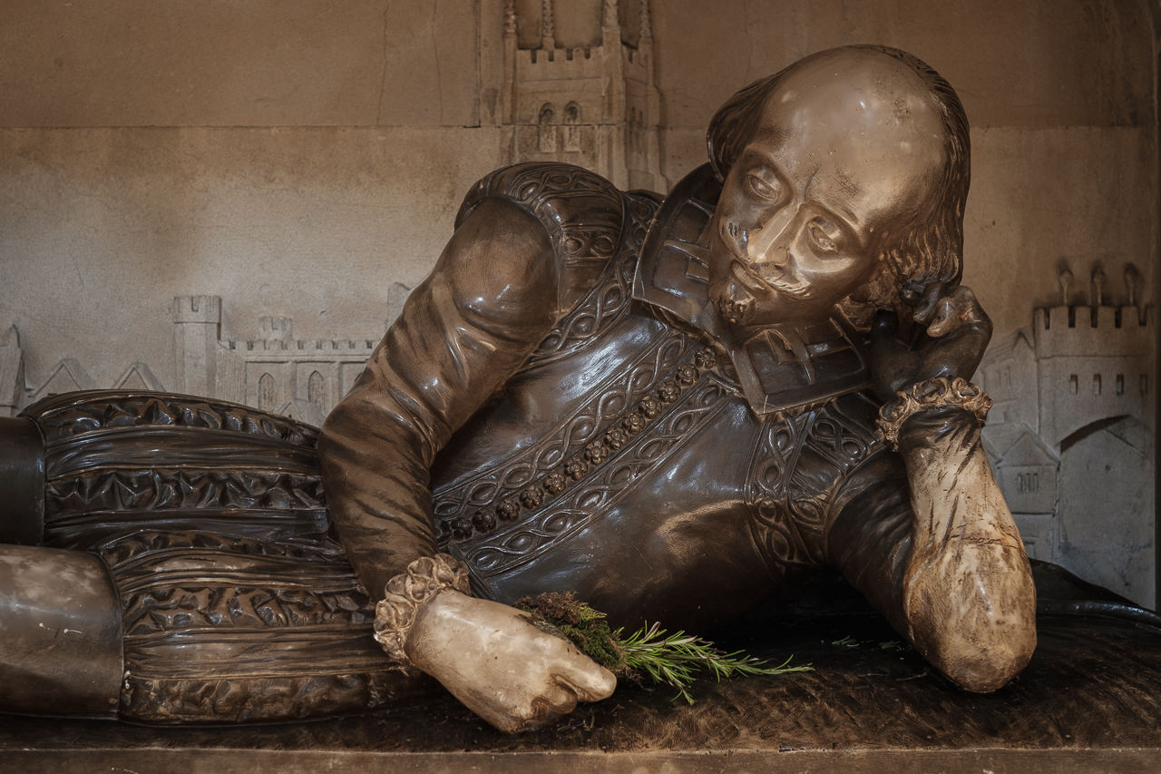 William Shakespeare (C) Southwark Cathedral