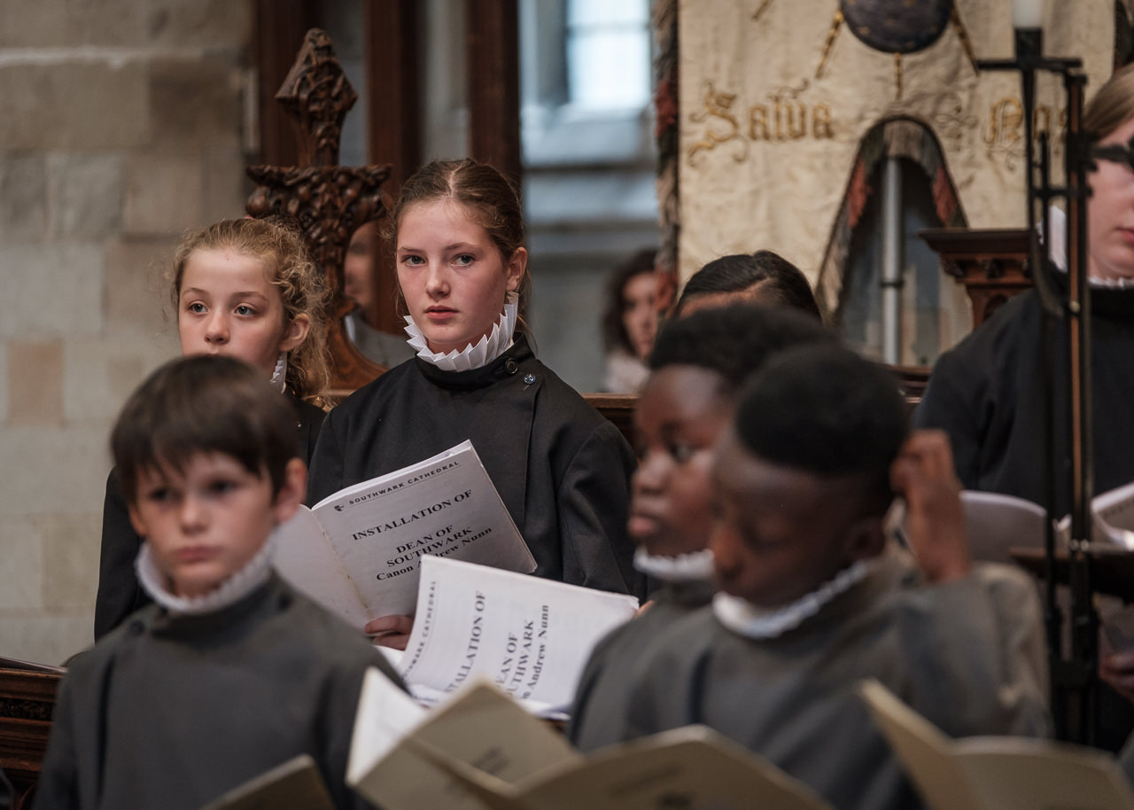 Choir Practice (C) Southwark Cathedral