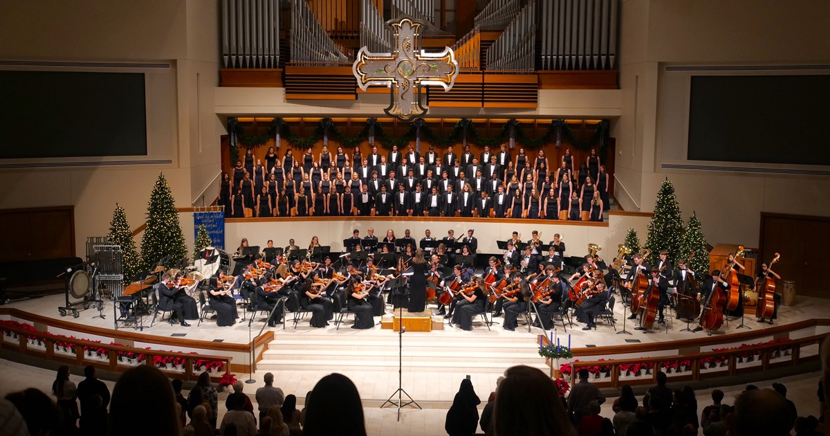 Concert - The Choir and Orchestra of Martin High School, Arlington